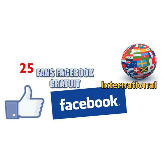 Fans Facebook Gratuit