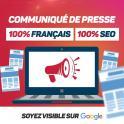 Publication de Communiqués de Presse français