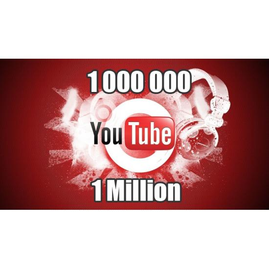 1 Million de vue youtube