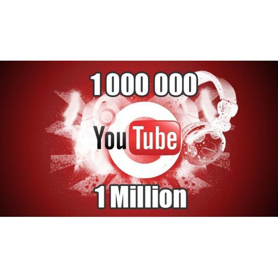 1 Million de vue youtube