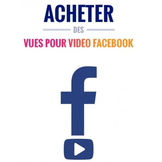 Vue sur vidéo Facebook
